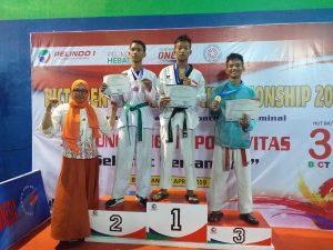 juara 2 taekwondo-Pelindo