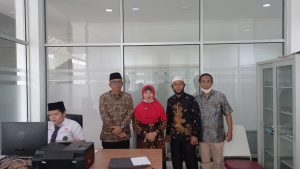Kabid Penmad Kanwil Kemenag Provsu H. Mustfid, MA Tinjau Pelaksanaan KSMO Tk. Nasional di MTsN 2 Medan