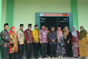 Peresmian Gedung Laboratorium & Perpustakaan Terpadu MTsN 2 Medan